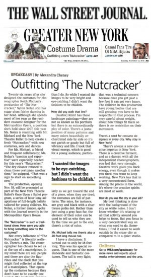 Outfitting <i>The Nutcracker</i>