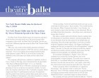 New York Theatre Ballet Aims for the Heart